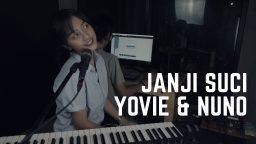 lirik lagu janji suci yovie and nuno